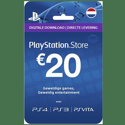 Playstation 20 euro giftcard | NL