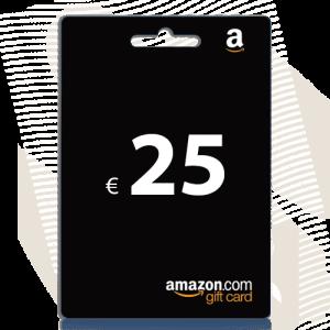 25 euro amazon cadeaukaart