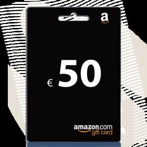 50 euro Amazon cadeaukaart