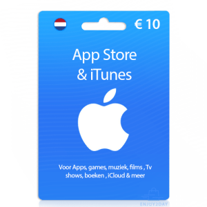 10 euro Apple gift card