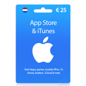 25 euro Apple giftcard