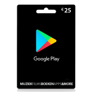 25 euro Google play card