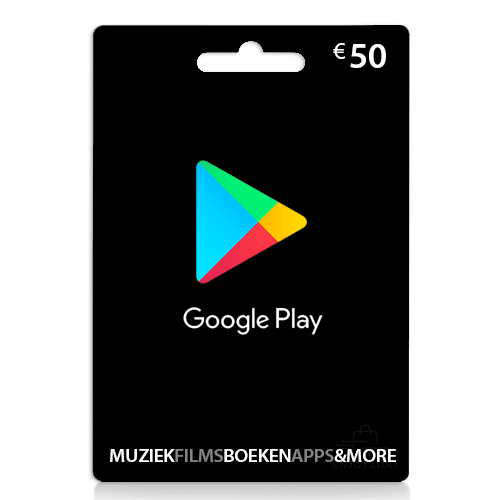 50 euro Google play tegoed