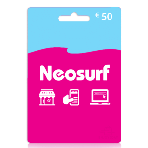 Neosurf 50 euro tegoedkaart