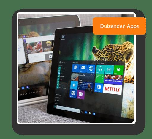 Je favoriete Windows home Apps