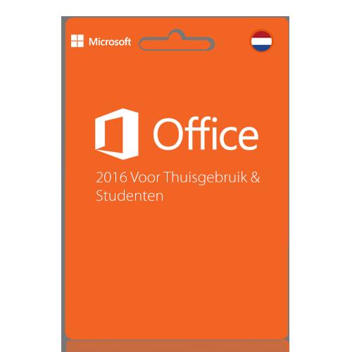Microsoft office 2016 thuisgebruik en studenten