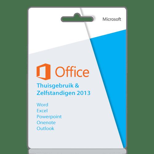 Office 2013 thuisgebruik en zelfstandigen