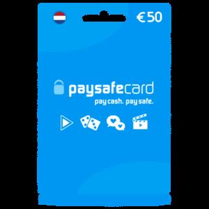 Paysafecard-50-euro-tegoed