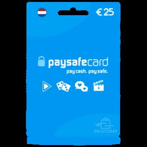 25 euro Paysafecard