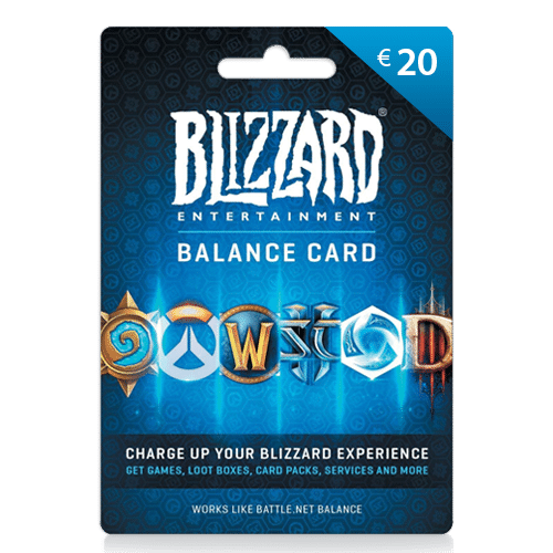 20 euro Blizzard giftcard