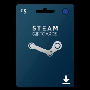 5 euro Steam gift card