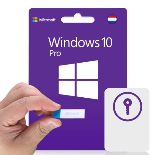 Windows 10 Pro USB | 32/64bit | Nederlands | Windows professional | Oem