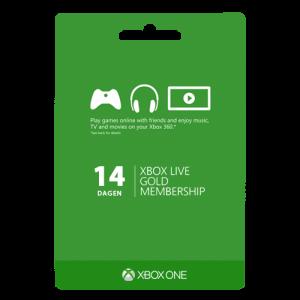 Xbox live 14 dagen