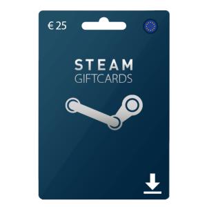 25 euro Steam Gift card