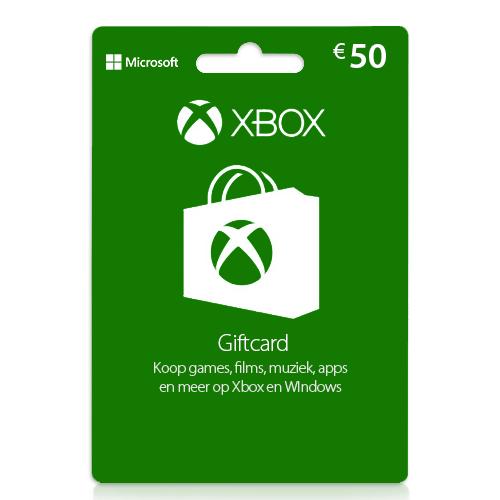 Xbox gift card 50 euro | Xbox cadeaukaart | Xbox tegoed | NL - EU