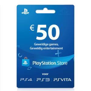 50 euro Playstation network cards PSN