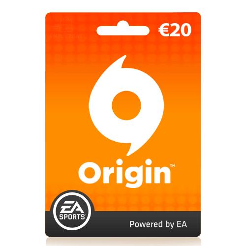 20 euro Origin Giftcard | Origin tegoed | Nederland | EU
