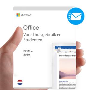 Microsoft Office 2019 voor thuisgebruik en studenten Nederlands