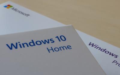 De verschillen tussen Windows 10 Home & Pro die jij niet mag missen