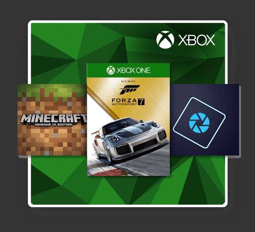 Microsoft tegoed gebruiken op de Xbox