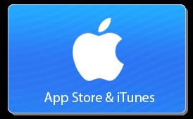 Itunes giftcard- app store tegoed