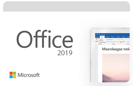 Microsoft Office 2019 digitale producten