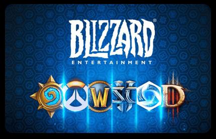 Goedkope Blizzard Gift cards kopen